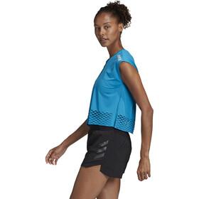 adidas TERREX Agravic Brassière T-Shirt Femme, sharp blue